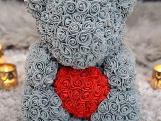 Ursuleți din trandafiri