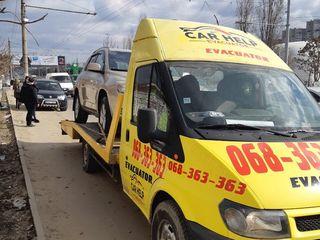 Tractare auto - evacuator auto - moldova 24/24 car help !!
