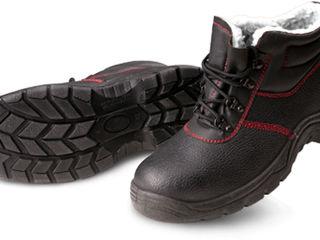 Утепленные защитные ботинки Btpuoc с искусственным мехом