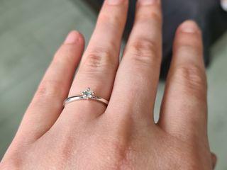 Продам кольцо - белое золото с бриллиантом. Vînd inel - aur alb cu diamant.