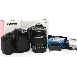 Фотоаппарат Canon 1300D 18Mp + Canon 18-55 IS II - Новый 320евро!