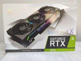 MSI GeForce 3070 Suprim X LHR