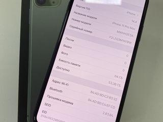 IPhone 11 Pro Max, 64Gb, Midnight Green.