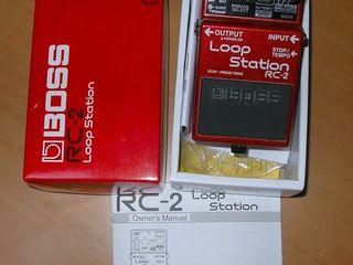 Boss Loop Station (RC-2)