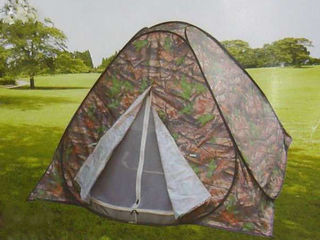 Палатка Автомат 3-4-х местная для любителей туризма и активного отдыха. Палатка легко разбирается