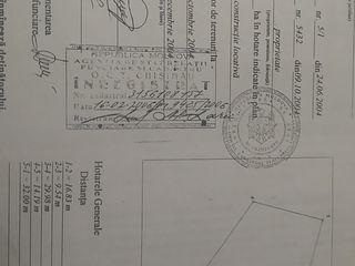 Lot pentru constructie Cricova.