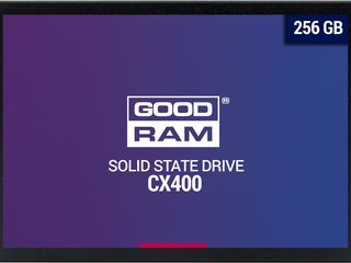"2.5"" SSD  256GB GOODRAM CX400, SATAIII, Sequential Reads: 550 MB/s, Sequential Writes: 490 MB/s"