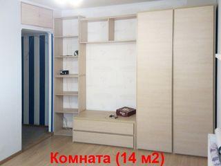 Аpartament cu 1 camera, Chișinău, Botanica, 34 m2