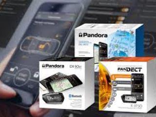 Автозапуск от Pandora. Автосигнализации GSM GPS Pandora Установка  Alarma Semnalizarea Флорин