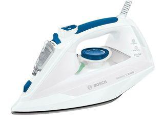 Bosch sensixxx tda302401w 2400 вт, белый/синий паровой утюг оиргинал!!!