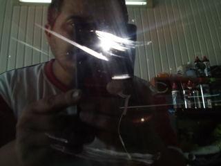 Удаление царапин с боковых стекол. Полировка фар. Полировка автостекол.