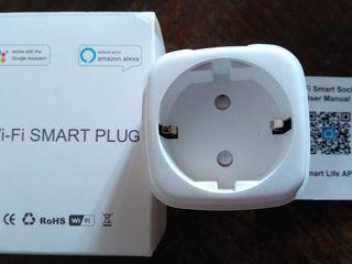 Priză Wi-Fi 3.5 kW cu monitoring de consum electric