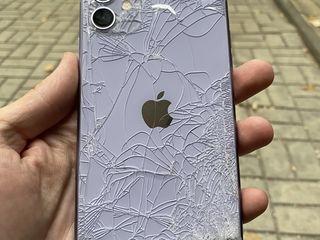 500 леев замена заднего стекла на любой iPhone !!