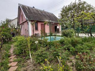 Дачный домик район Думбравы,вокруг лес,солидные соседи