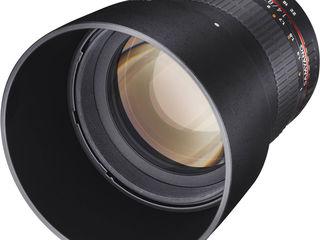 250euro Samyang 85mm f/1.4 Sony lens mai cedam