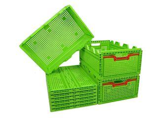 Складные пластиковые ящики  / Lazi din plastic pliabile