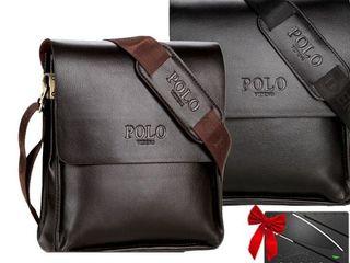 Сумка Polo Geanta pentru barbati Нож кредитка в Подарок