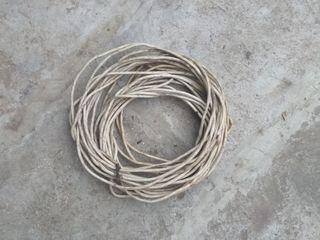 Провод медный, многожильный, сечение 12,5кв.мм., в ПВХизоляции, по 15лей метр. Есть 40метров.