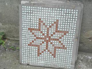 Мозаичные плиты размер 80 х 80 см и