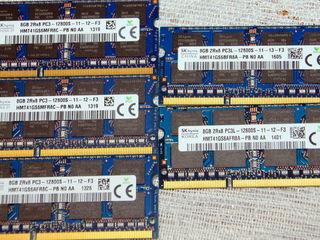 Оперативка ! для ноутбуков DDR3, DDR3L-12800-1600 новые 300lei