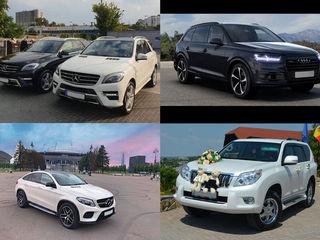 VIP транспорт для торжеств/transport pentru evenimente de la 50 €/zi (день)