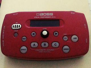 Boss VE-5 Vocal Performer Вокальный Процессор
