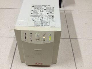 UPS APC 1000 Для котлов на твёрдом топливе( дрова, уголь) и газовых котлов. Чистый синус.