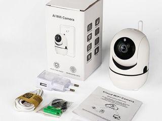 Eyes EC80-Y13 - cameră IP WiFi 360 cu interfon, urmărire automată și filmare de noapte 500 l.