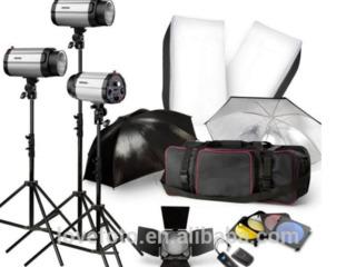 Blazzeo 750W Studio Flash Light Kit (250W x 3)