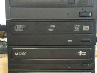 CD-ROM, CD-RW, DVD-CDRW, DVD-RW