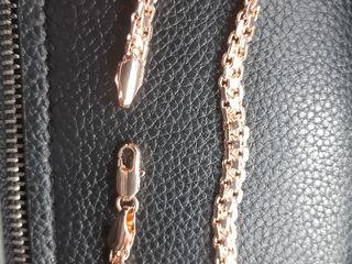 продам позалоченый браслет якорное плетение .