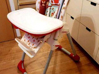 Оригинальный итальянский стульчик Chicco polly 2 в 1. Сегодня 1350 лей