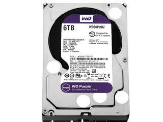 """3.5"""" HDD 6.0TB  Western Digital WD62PURZ"""