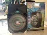 Boxa karaoke portativa mare + LED disco incorporat !!! колонка портативная 200w