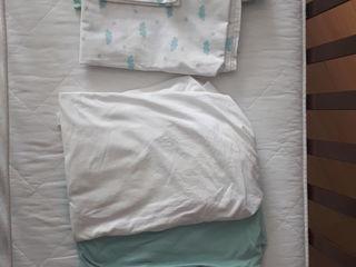 Продаю постельное детское белье б/у для младенцев, для стандартных кроваток.