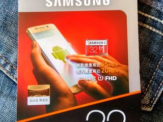 Micro SD Samsung Evo Plus 32 Gb. Original. 150 lei.