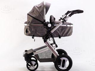 Carucior 2 in 1 pentru bebelusi