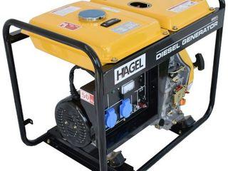 Дизельный генератор Hagel 6000CL . Доставка бесплатная по всей Молдове !!!