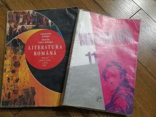 Manual de limba română și matematica, clasa a 11-a.