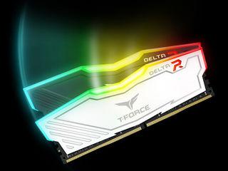 Team T-Force Delta II RGB Series 32GB (4 x 8GB) DDR4 3000 Mhz! Новая в упаковке!