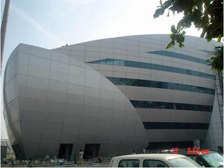 Отделка строений,  композитные материалы , Вентилируемые фасады