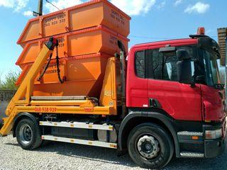 """Container 8m3 evacuare gunoi """"Skippy"""" SRL"""