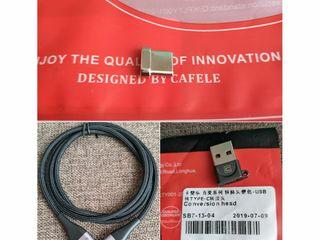 Xiaomi беспроводная зарядка, кабель  Tipe-C, USB