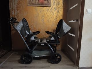 Детская коляска для двойни Peg-Perego Duette Pop-Up