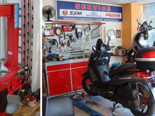 Мото-сервис. Мото-ремонт Reparatie Moto Scuter ATV