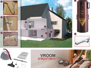 Встроенные системы пылеудаления. Система чистый дом.