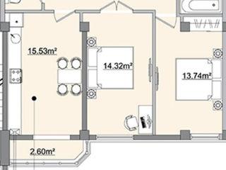 Apartament 2 odai.    !!! de la proprietar