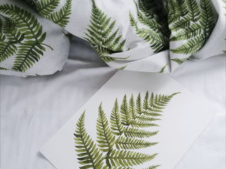 Lengerie de pat din satin calitate superioara