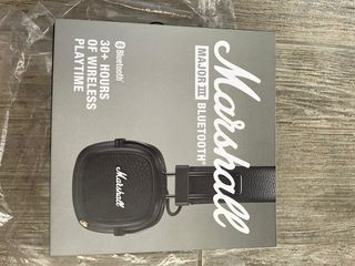 Наушники Wireless On-Ear Marshall Major III, Черный