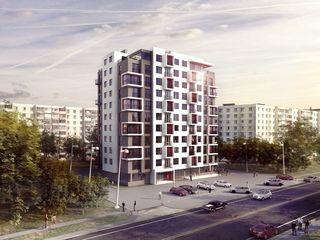 Apartament cu o odaie in blocul locativ din str.Valea Crucii 8/3.Botanica. Cu vederea spre parc